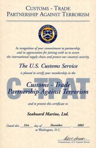 Seaboard-Marine-C-TPAT-Certificate