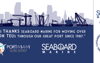 PortMiami Recognizes Seaboard Marine for Milestone Achievement