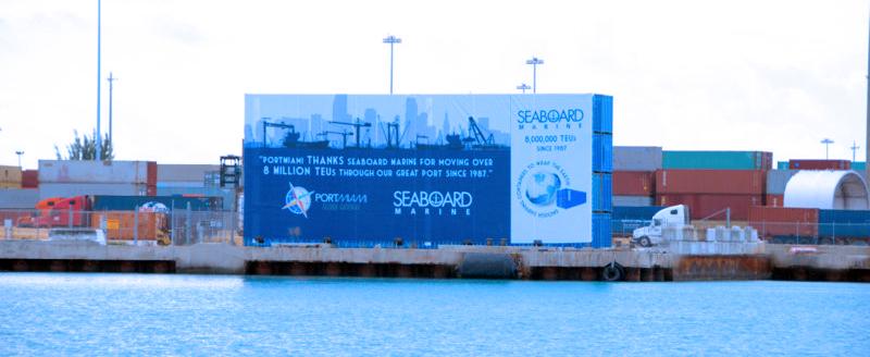 PortMiami Recognizes Seaboard Marine for Milestone Achievement